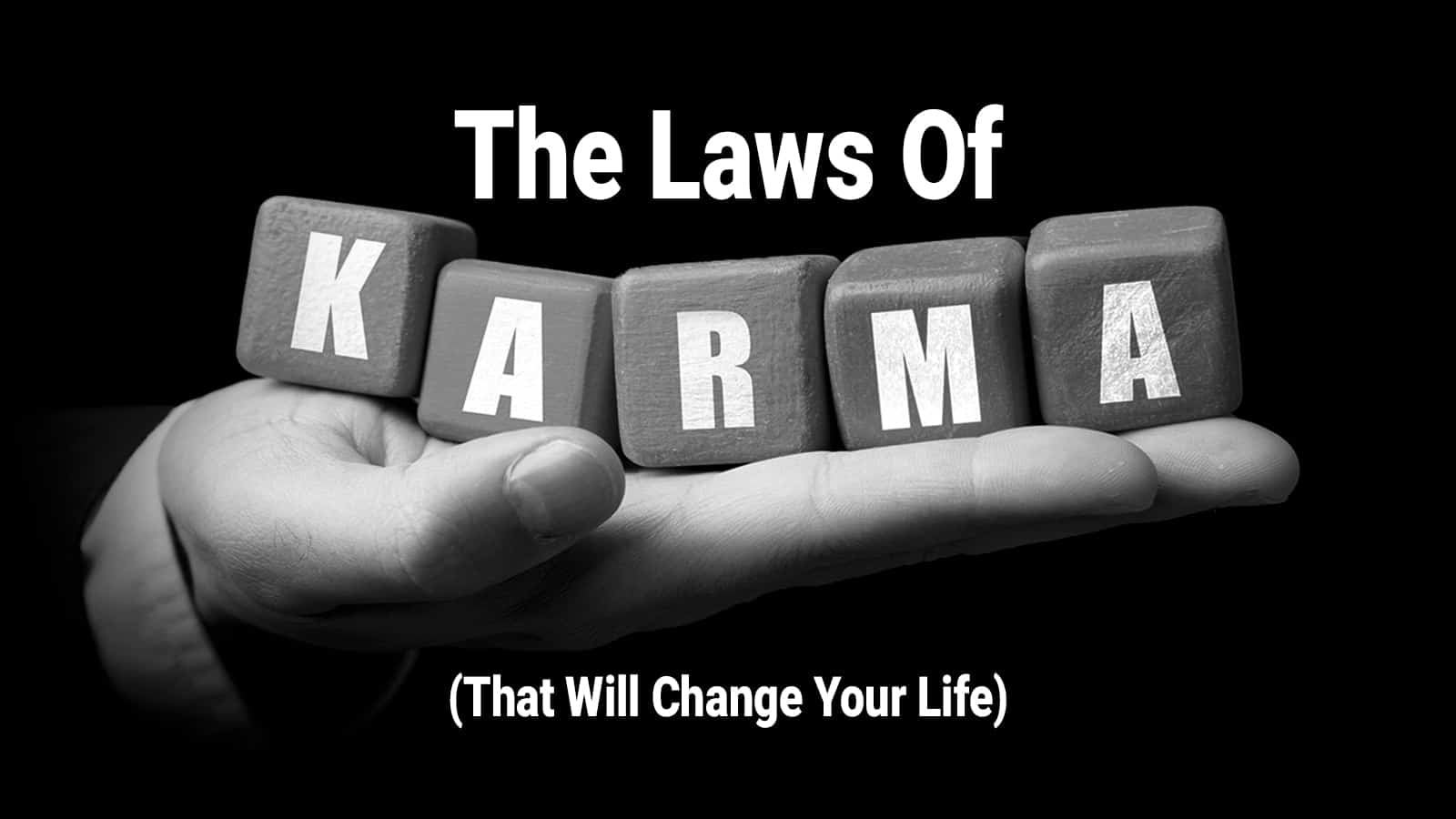 Eye-opening Definition Of Karma